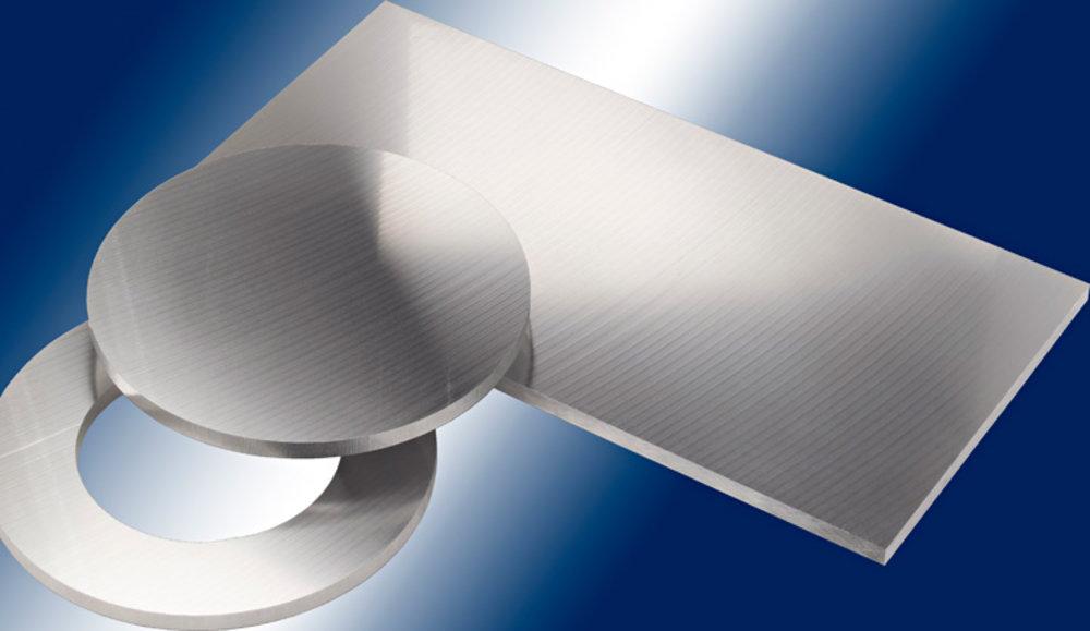 B/&T Metall Aluminium Platte blank gewalzt natur 25 x 40 cm 25,0mm stark Gr/ö/ße 250 x 400 mm