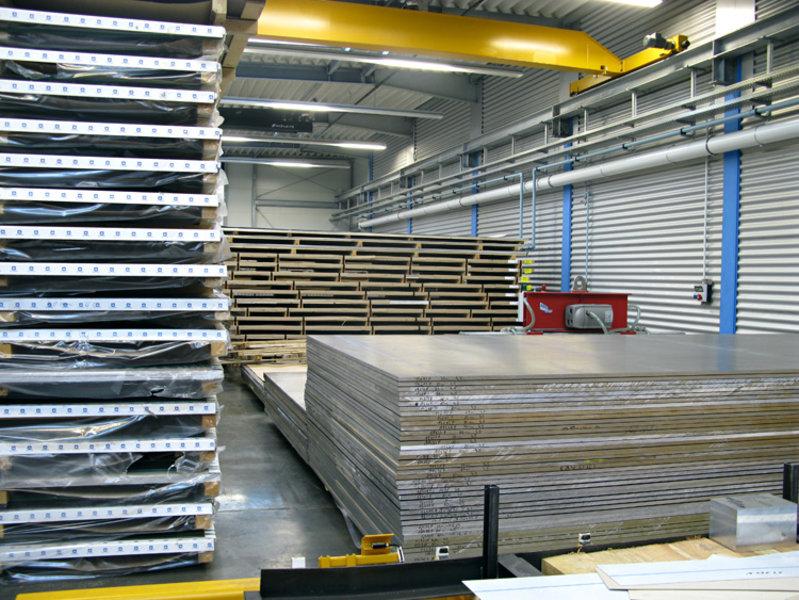 12,0mm stark 40 x 45 cm Gr/ö/ße 400 x 450 mm B/&T Metall Aluminium Platte blank gewalzt natur