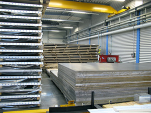 Aluminium sheets rolled
