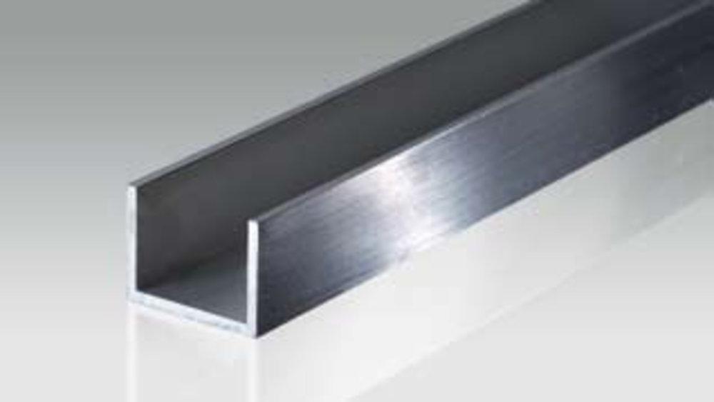 aluminium u profiles bikar metalle. Black Bedroom Furniture Sets. Home Design Ideas