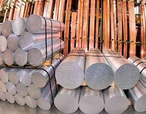 Aluminium cast ingots up to 600 mm in diameter