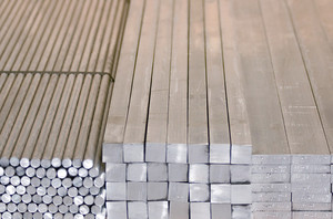 Aluminium hexagon bars extruded