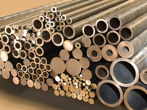 Aluminium bronze round bars extruded