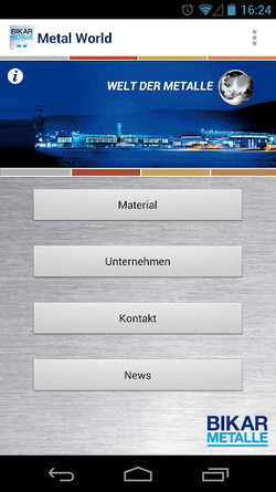 BIKAR-METALLE Android App available in Google Play